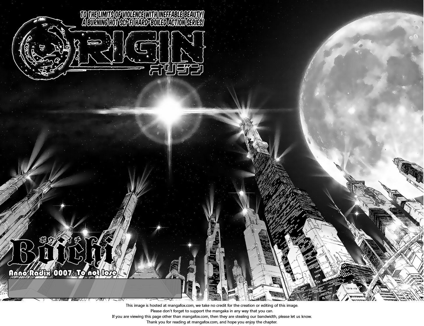 Origin - Chapter 7