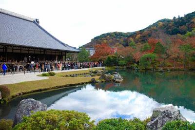 Tenryuji Temple Arashiyama Kyoto.