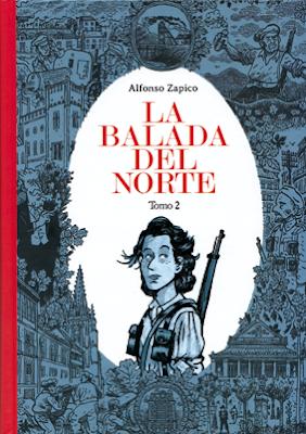 La balada del norte. Tomo 2. de Alfonso Zapico, edita Astiberri