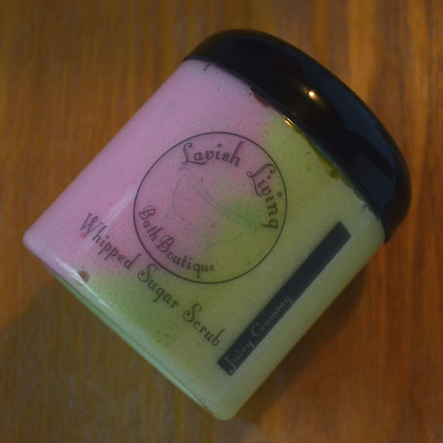 Lavish Living Bath Boutique Juicy Gummy Whipped Sugar Scrub