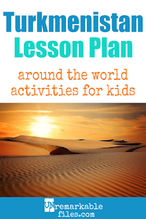 Building the perfect Turkmenistan lesson plan for your students? Are you doing an around-the-world unit in your K-12 social studies classroom? Try these free and fun Turkmenistan activities, crafts, books, and free printables for teachers and educators! #turkmenistan #lessonplan