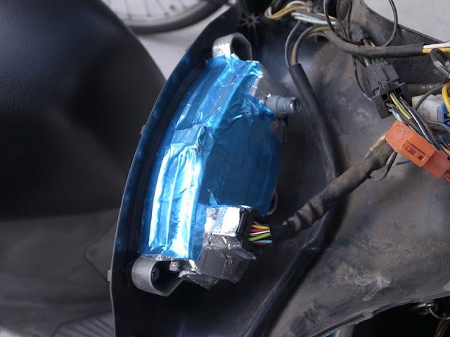 エルリボン LEDヘッドライトバルブ ノイズ対策 レアルシルトアルミテープ
