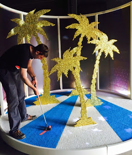Doug Fishbone's Leisure Land Golf by EM15 at the Venice Biennale, photos by Gareth & Lurlyn Holmes