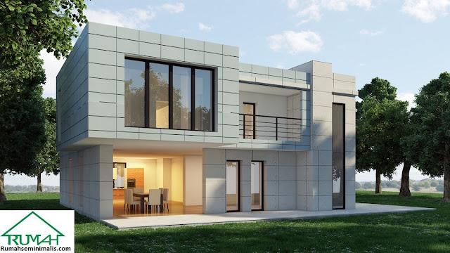merupakan kebutuhan pokok setiap insan Denah Model Desain Gambar Rumah Minimalis Idaman Modern