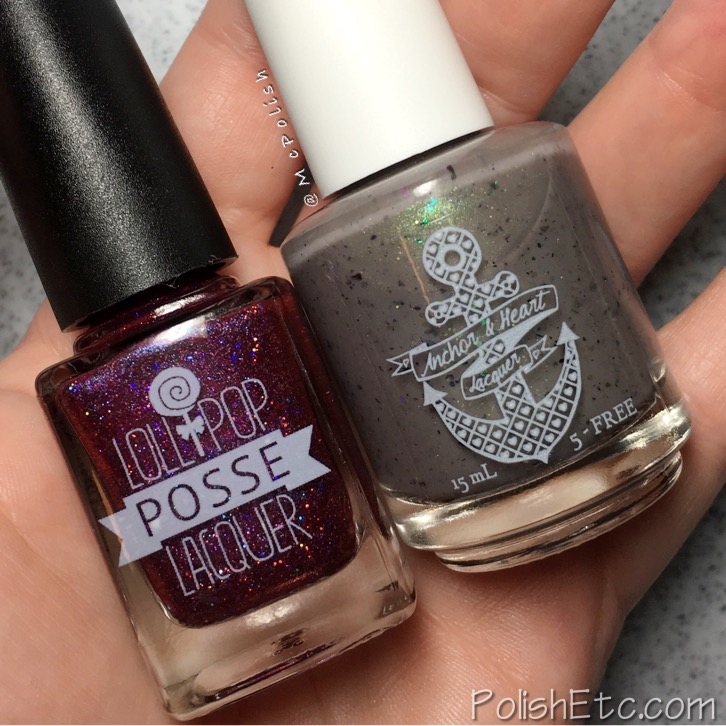Vikings Duo from Lollipop Posse Lacquer and Anchor & Heart Lacquer - McPolish