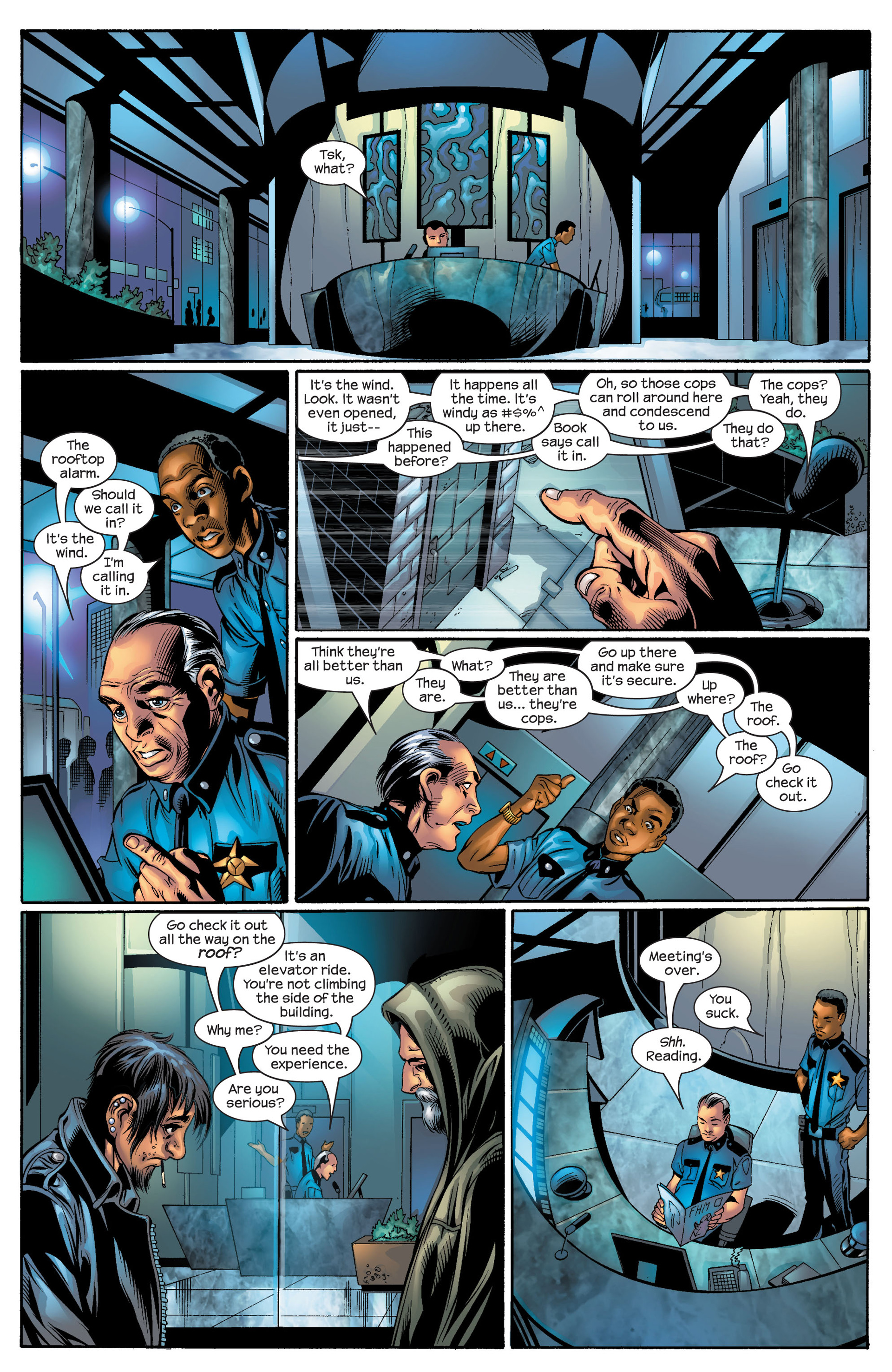 Read online Ultimate Spider-Man (2000) comic -  Issue #50 - 6