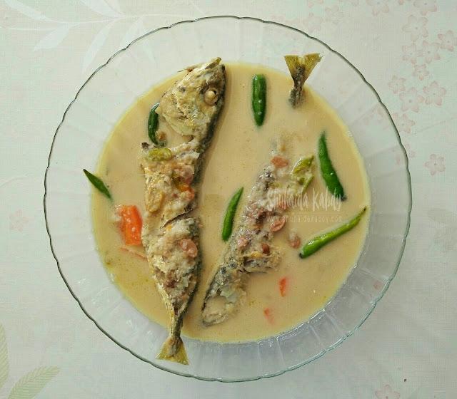 resepi gulai taucu ikan kembung