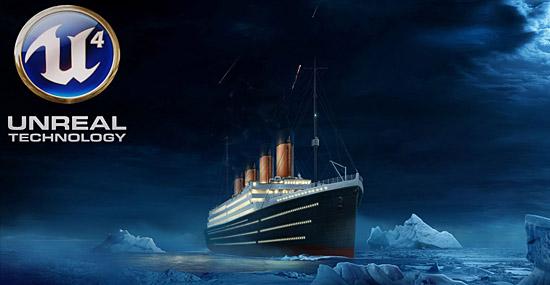 Veja o Titanic afundar em tempo real em nova animação de videogame