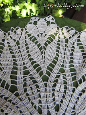 pretty crocus doily