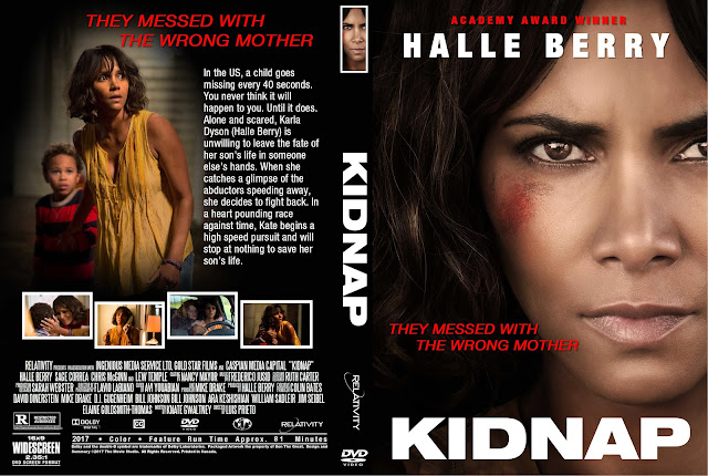 Kidnap DVD Cover
