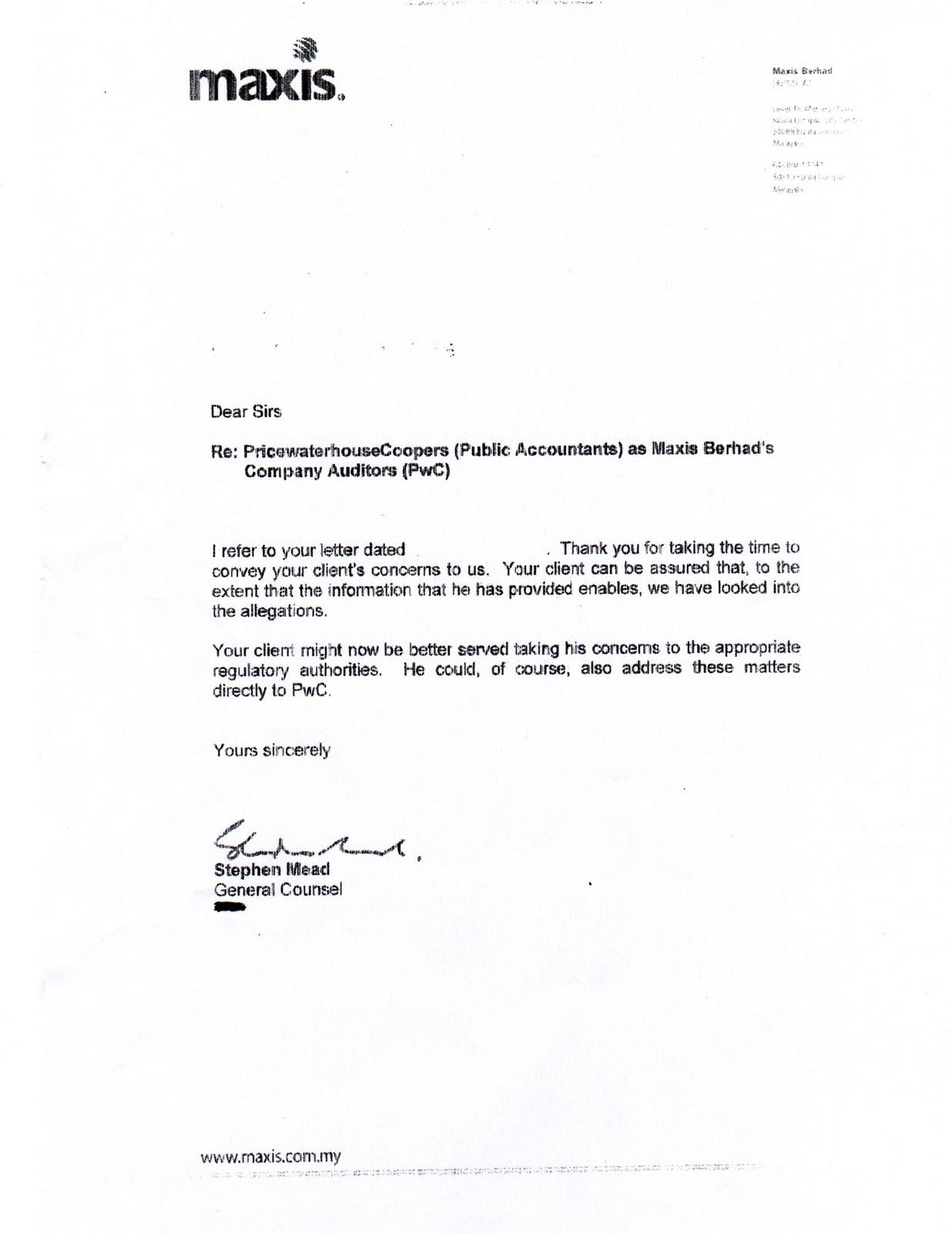 zarinahtakesapaycut PwC Malaysia trial to resume in February 2012