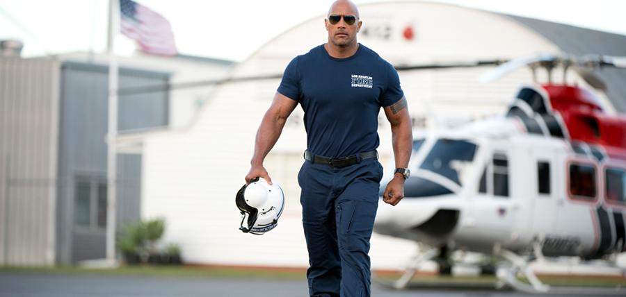 Dwayne Johnson în filmul San Andreas