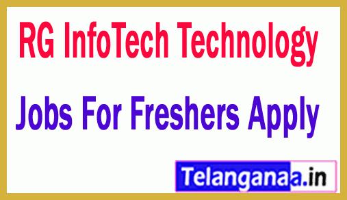 RG InfoTech Technology Recruitment Jobs For Freshers Apply