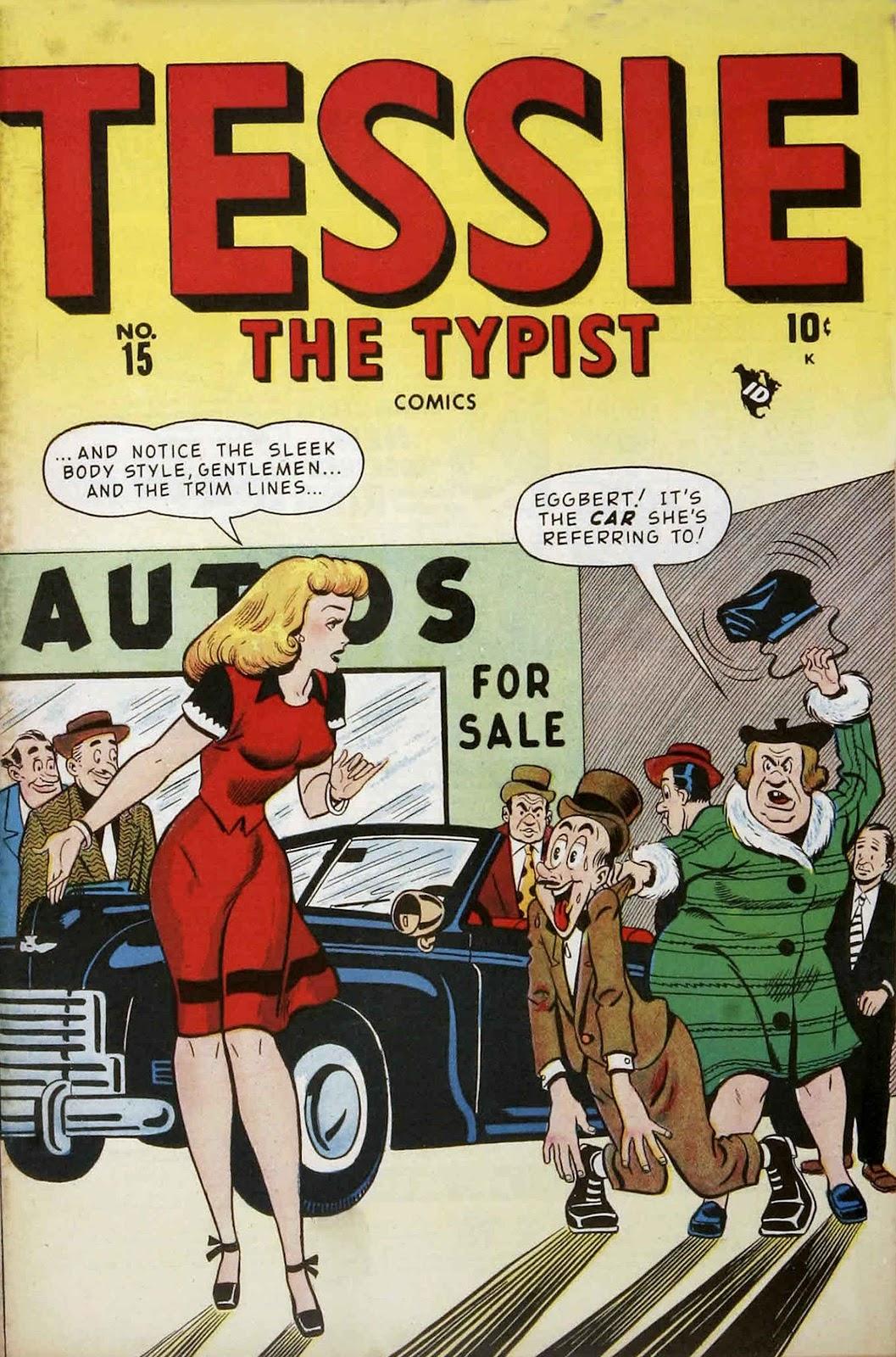 Tessie the Typist issue 15 - Page 1
