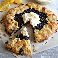 Blueberry-Lemon-Galette-with-Labneh-Whipped-Cream