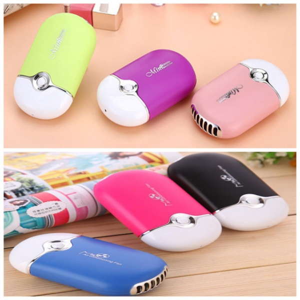 hand held desk air conditioner humidification cooler cooling fan