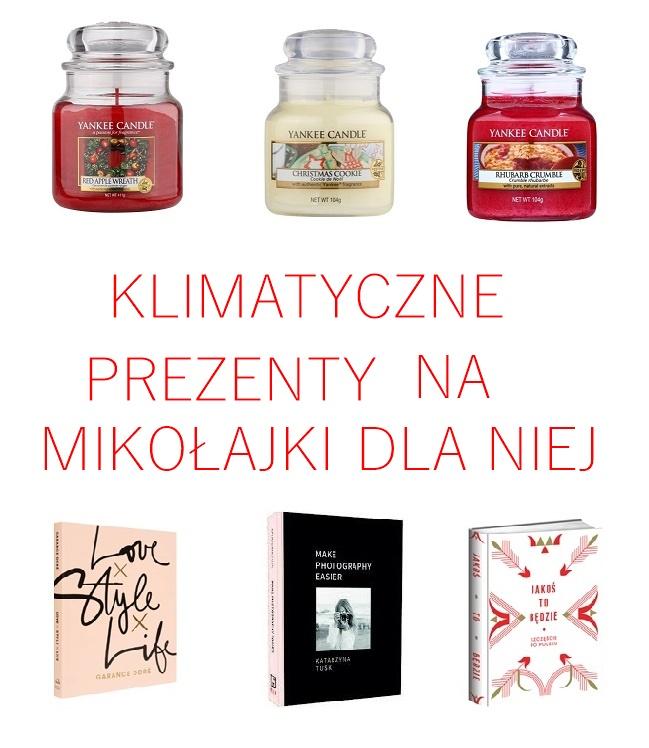 Świąteczne prezenty dla niej | Mikołajki 2017