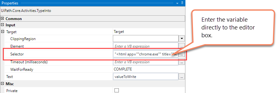 Dynamic or Variable Selectors in UiPath | Aneejian