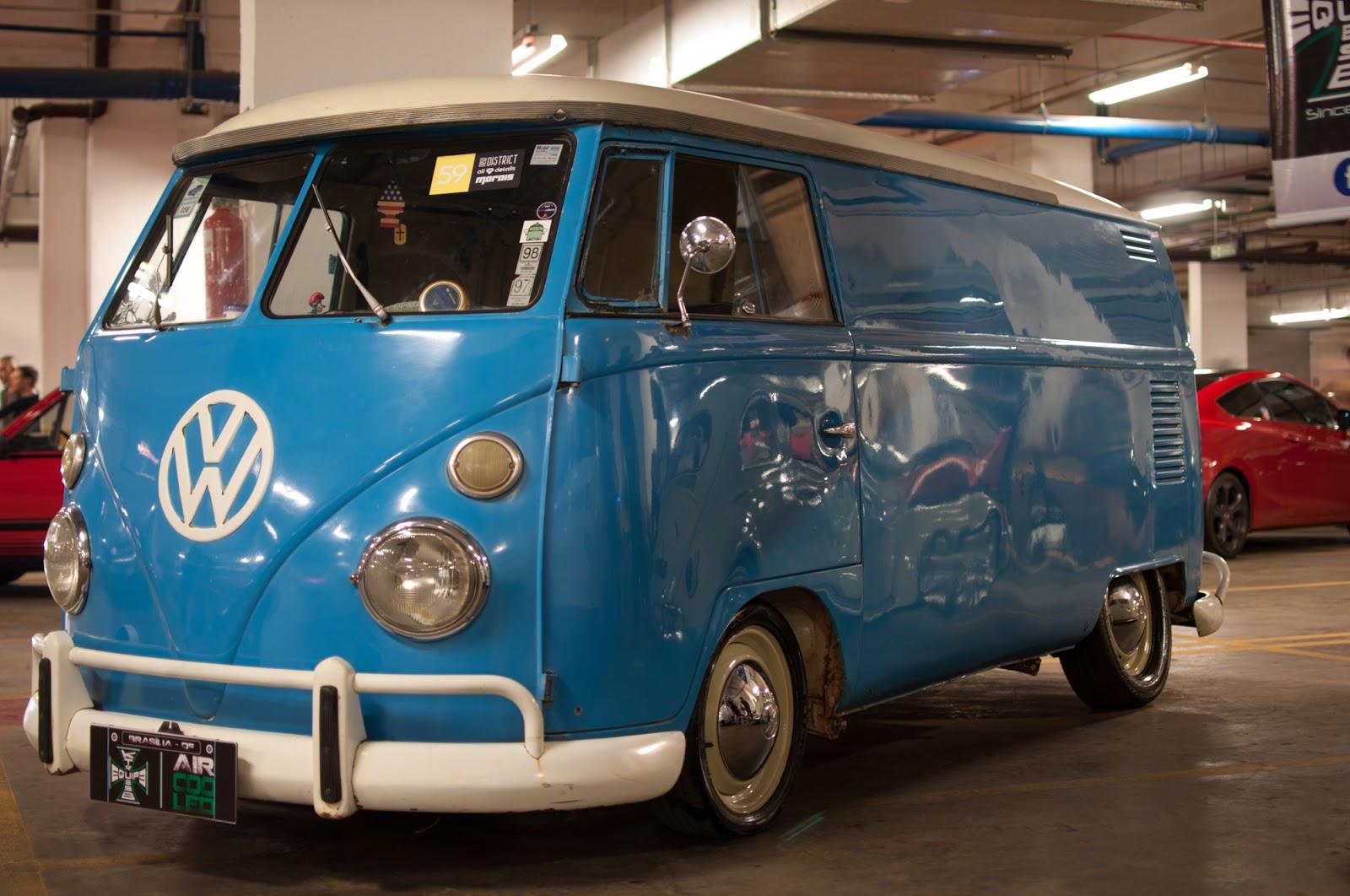 Carros modificados, possantes antigos e máquinas desejadas em exposição na garagem do Brasília Shopping