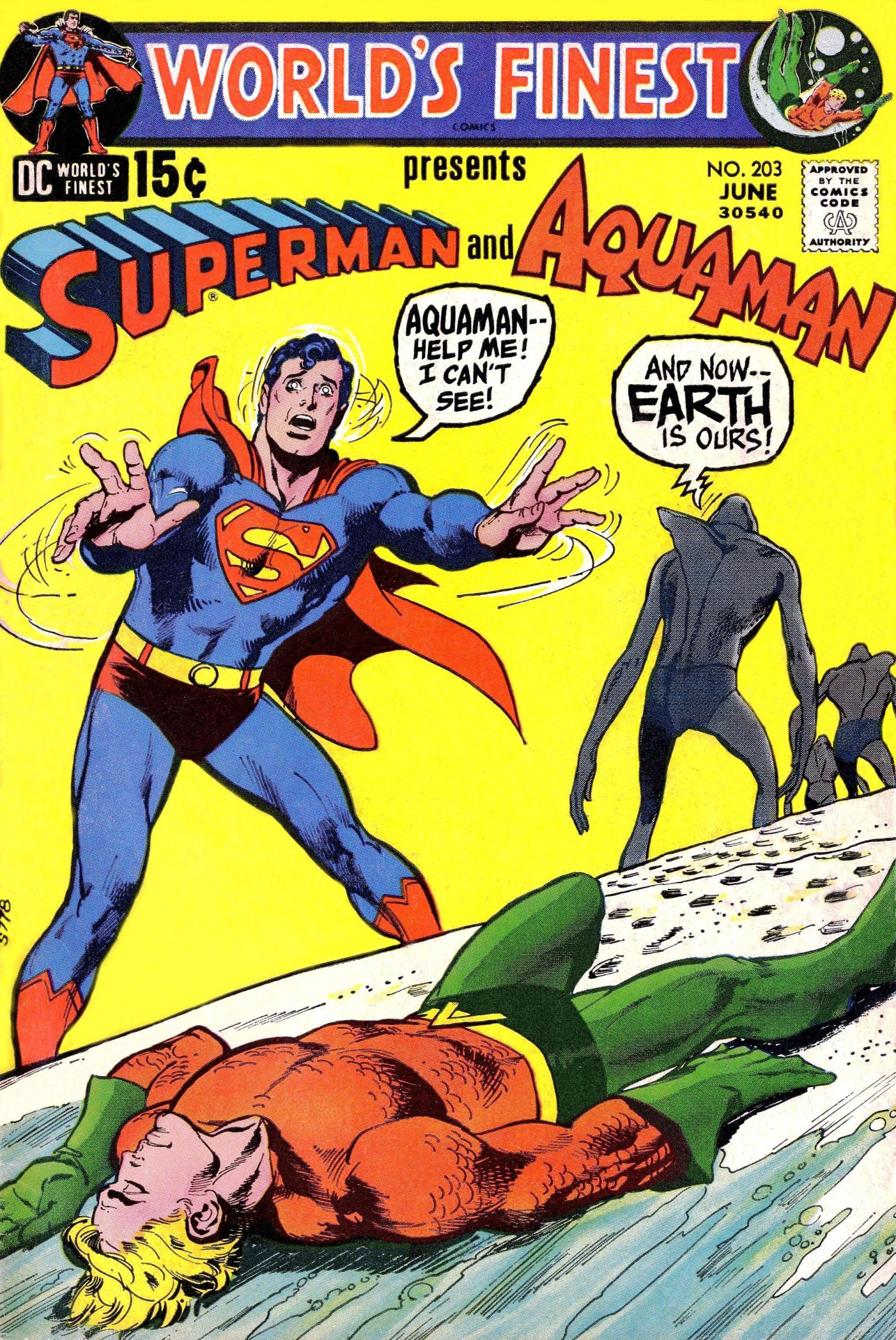 Read online World's Finest Comics comic -  Issue #203 - 1