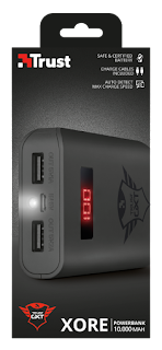 trust gaming power bank 21788 con display