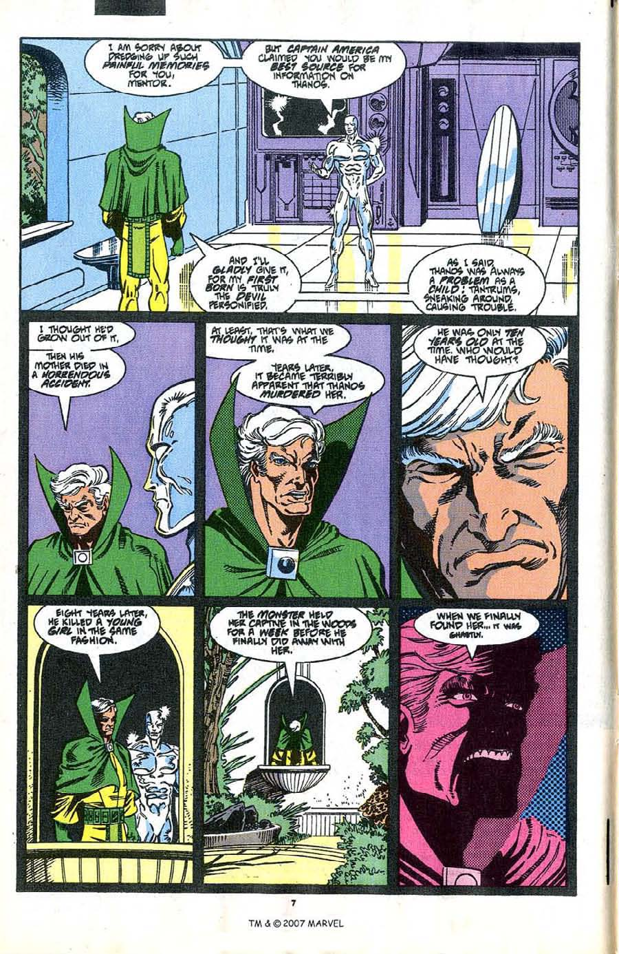 Read online Silver Surfer (1987) comic -  Issue #37 - 8