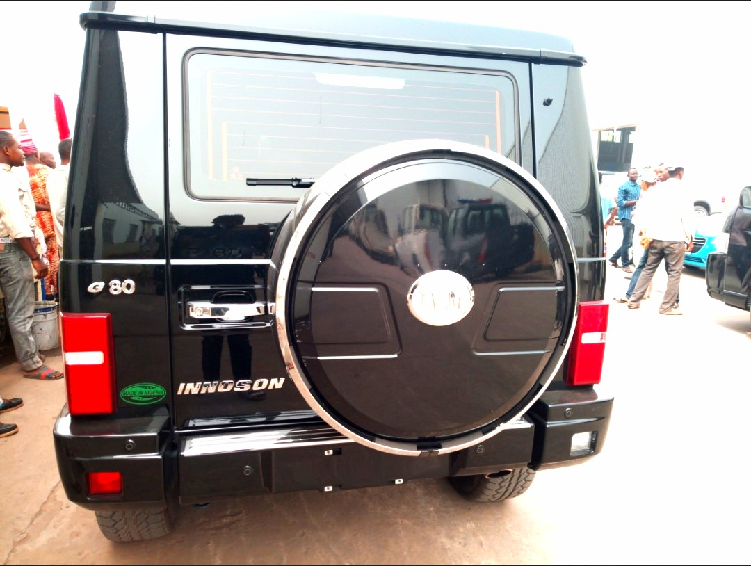 Innoson motors unveils new brands of suvs in anambra state for M and g motors