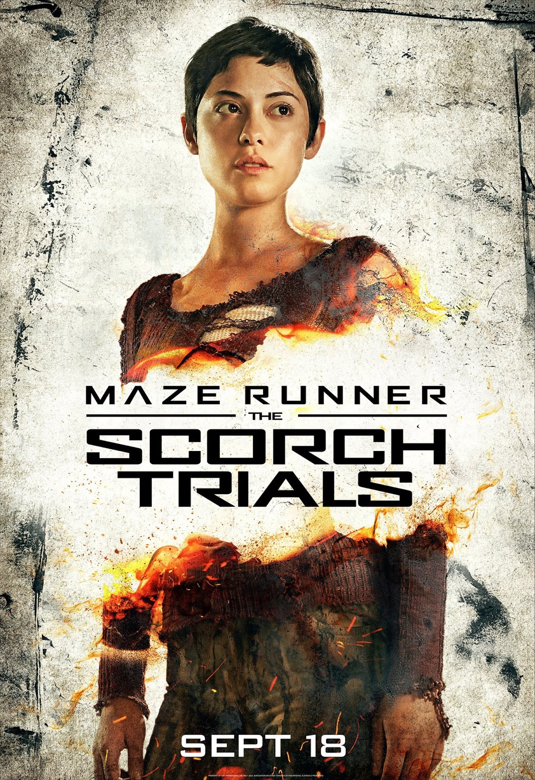 Maze Runner: The Scorch Trials (Brenda)