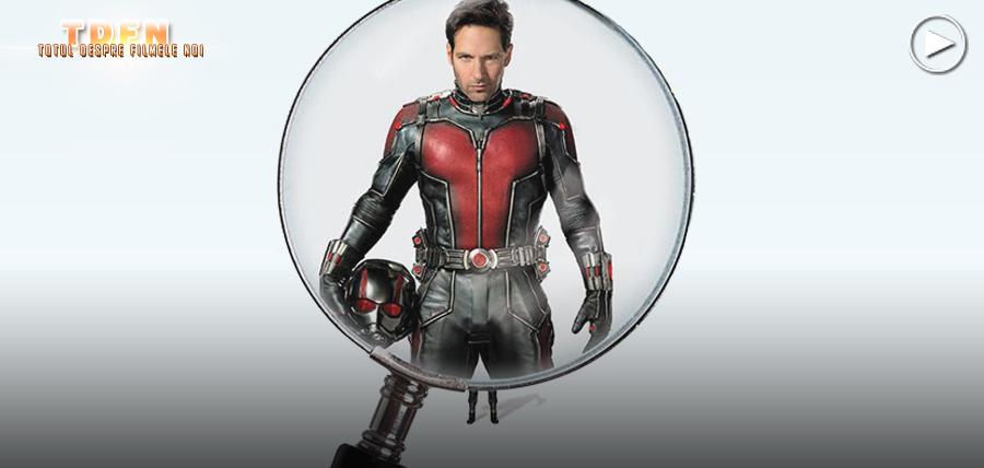 Paul Rudd este cel mai nou supererou al universului Marvel: Ant-Man