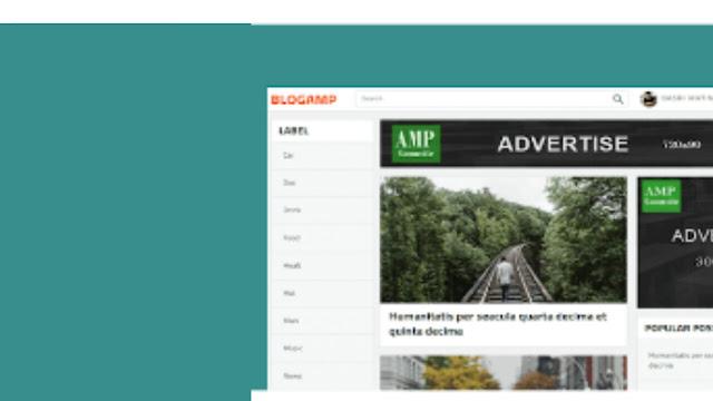 BlogAMP Templates