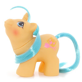 MLP Sandcastle Year Six Newborn Twin Ponies II G1 Pony
