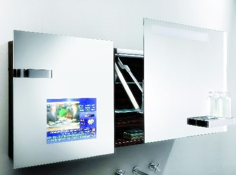 Bathroom Mirror Tv Cabinet