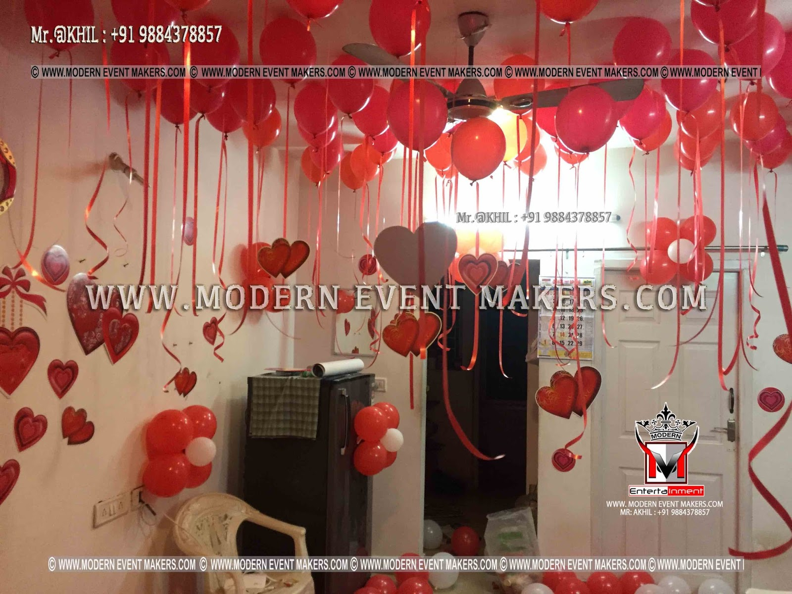 Balloon Surprise Decoration At Home