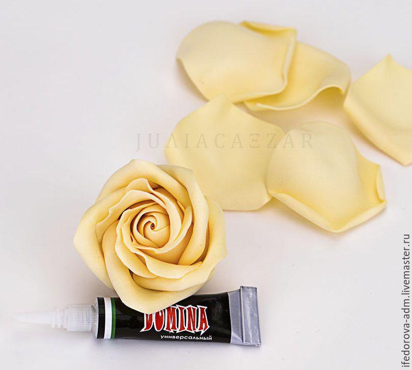 Delicate Rose of Foamiran. DIY Tutorial