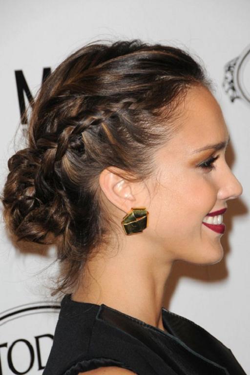 Peinados De Fiesta Peinados con trenzas para mujer 2013