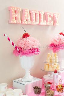 coppetta gelato decorativa realizzata con carta velina