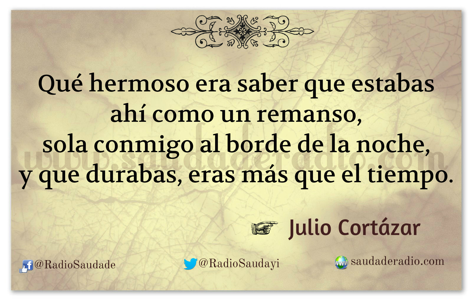 Sobremesa Julio Cortázar