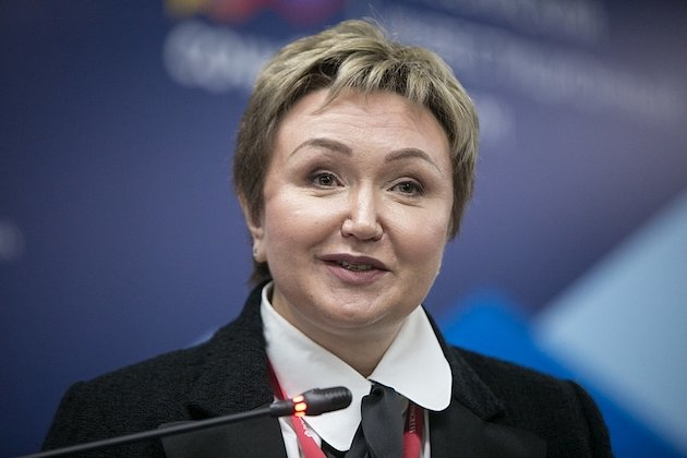 Image Attribute: The file photo of Natalia Fileva at the 2018 Russian Investment Forum at the Main Media Center of Sochi's Olympic Park/ Source: Vyacheslav Prokofyev /TASS / Date: February 16, 2018