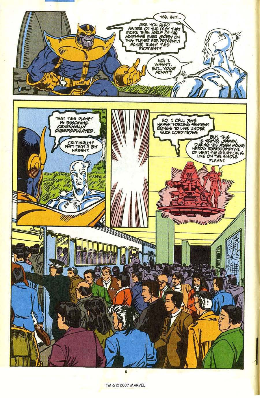 Read online Silver Surfer (1987) comic -  Issue #35 - 8