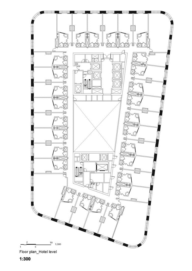Annex building floor plan