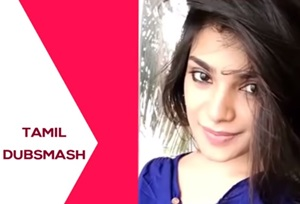 Meesaya Murukku Actress Aathmika Dubsmash Cute dance Videos