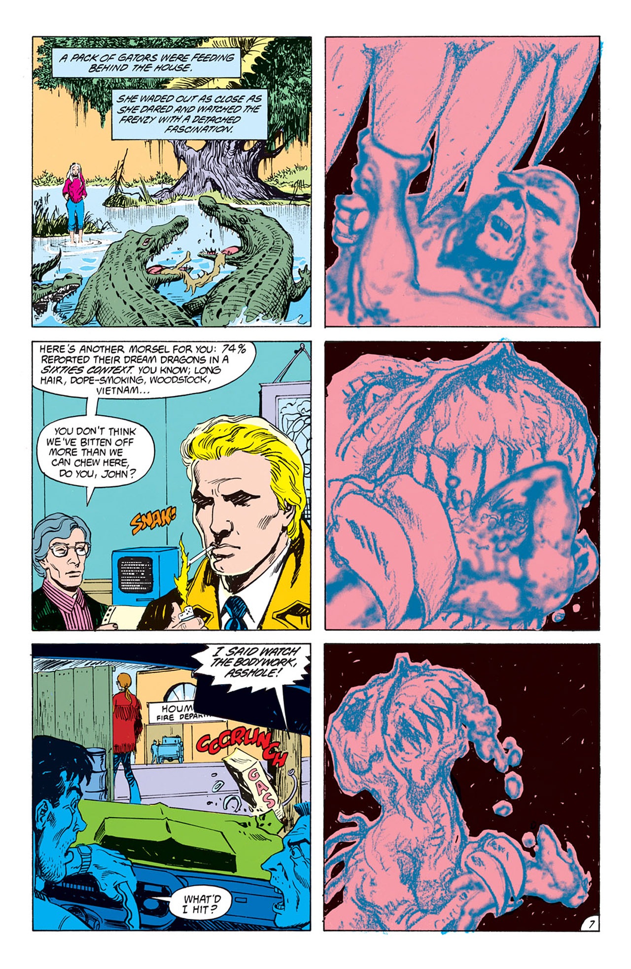 Swamp Thing (1982) Issue #73 #81 - English 8