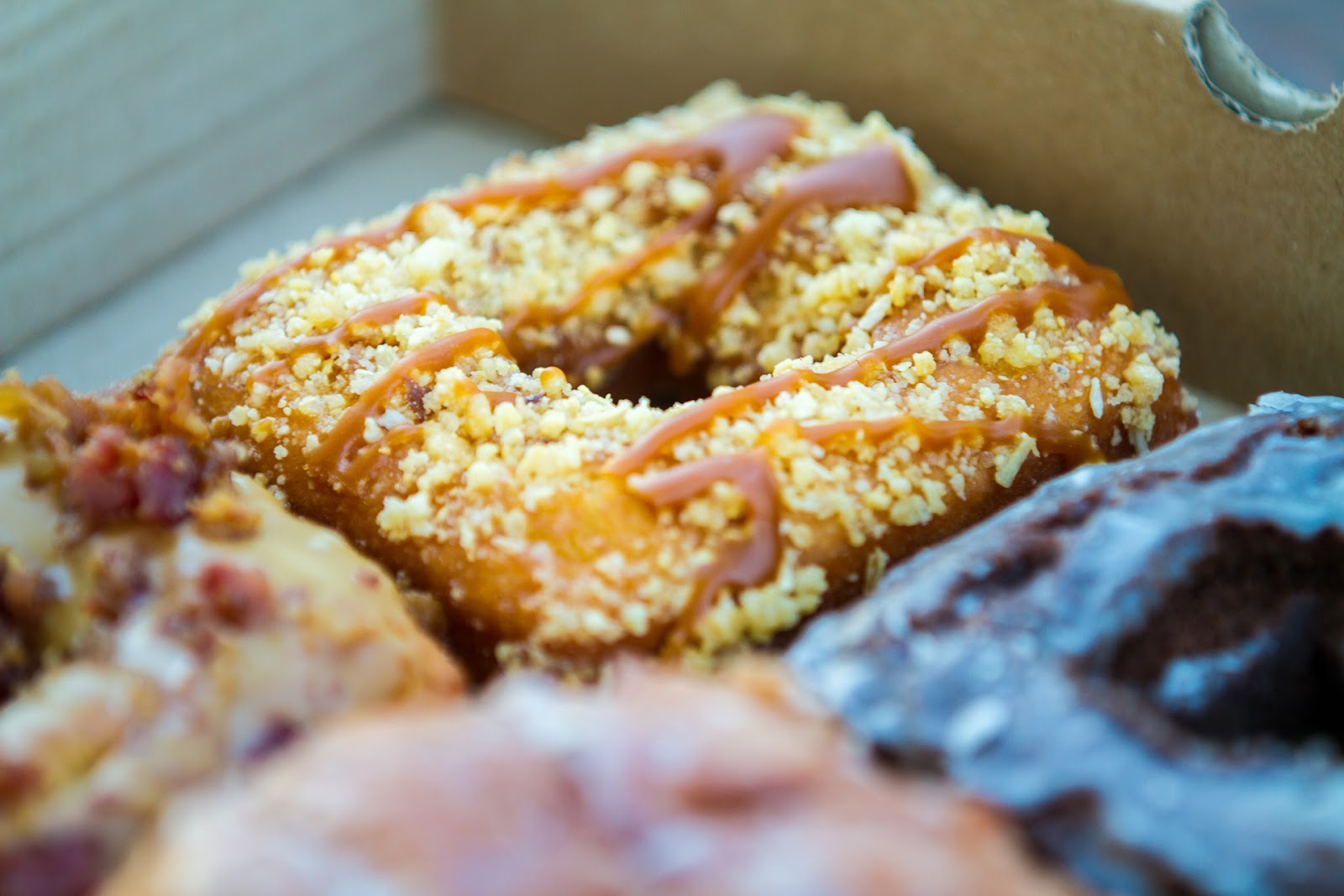Local Food Rocks: Tony's Square Donuts Buttercrunch