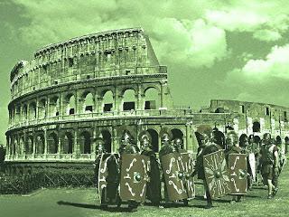 Coliseo romano y Derecho romano