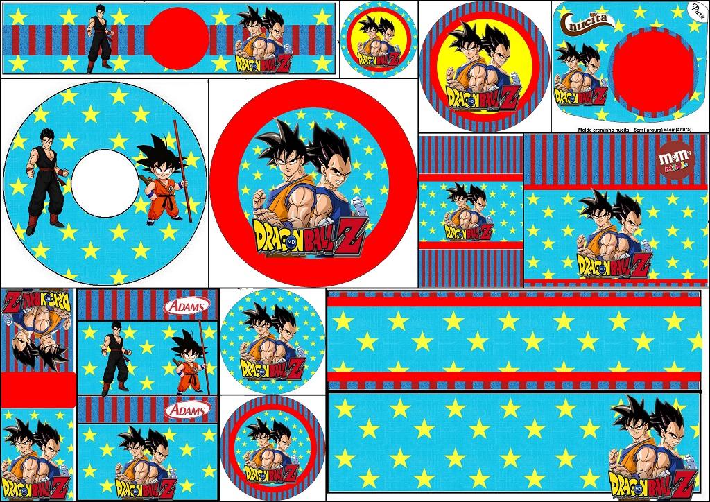 Dragon Ball Z Bar Labels Oh My Matrimonio Immagini Idee