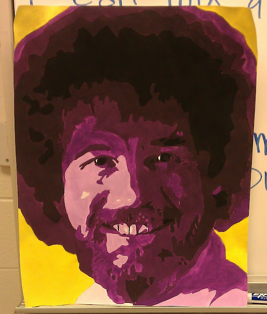 Art With . Kennedy 8th Grade Painting- Pop Portraits