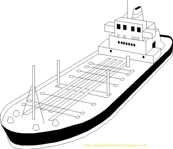 Koleksi 5700  Gambar Animasi Kapal Laut Hitam Putih  Terbaru