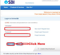 how can i change my sbi atm pin number online
