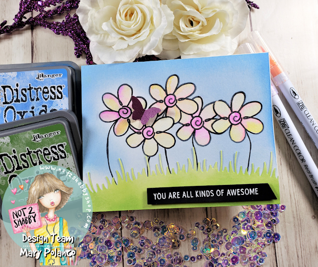 Super Simple Spring Card | Not2Shabby