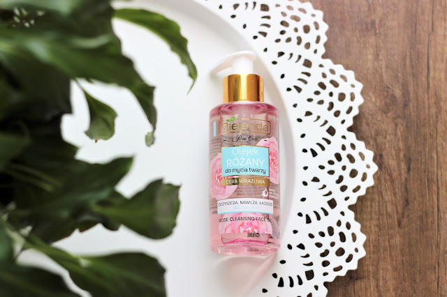 Bielenda - Rose Care Olejek różany do mycia twarzy